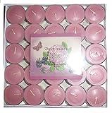 pajoma 25er Tableau Duftteelichter/Duft/Teelichter/Duftkerze Verschiedene Düfte (Rose & Berries) -