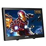 JaiHo Gaming 13.3 inch Portable Monitor IPS Dual HDMI Display 1920×1080 Resolution Support 4K HDMI Input w/Built-in Speakers Compatible PC PS4 Xbox 360 Laptop
