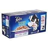 FELIX Tendres effilées en gelée de viandes et poissons - 4,4kg (x1) - Pour chat