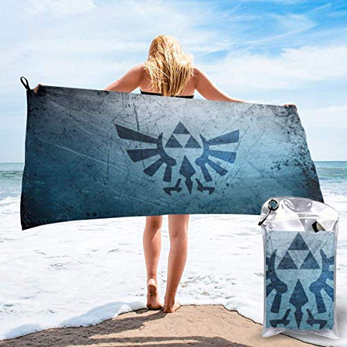 HKYP Toalla de bañoP Bath Towel Legend of Zelda Bath Towel