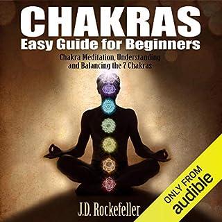 Chakras Easy Guide for Beginners audiobook cover art
