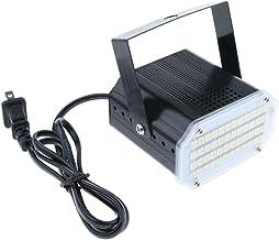 Homyl 48 LED White Color Strobe Light for Christmas Parties Wedding DJ Bands Club