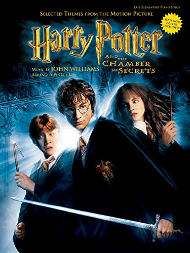 Harry Potter and the Chamber of Secrets: Selected Themes from the Motion Picture - Late Elementary Piano [With Poster]