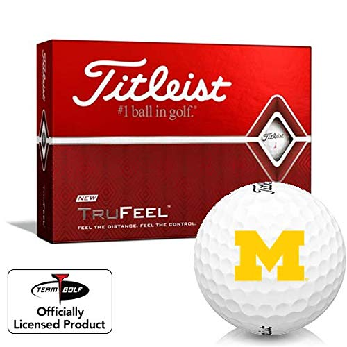 Check Out This Titleist TruFeel Michigan Wolverines Golf Balls