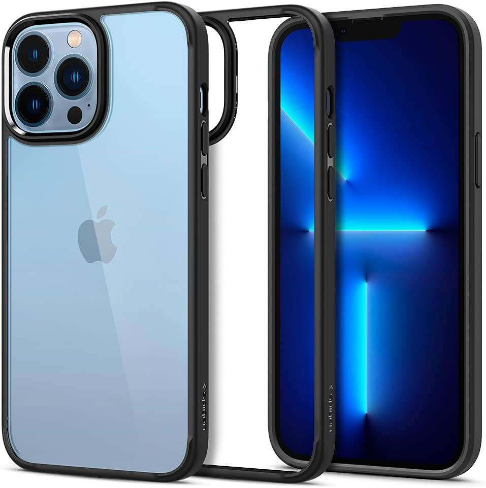 Spigen Ultra Hybrid Designed for iPhone 13 Pro Max Case (2021) - Matte Black