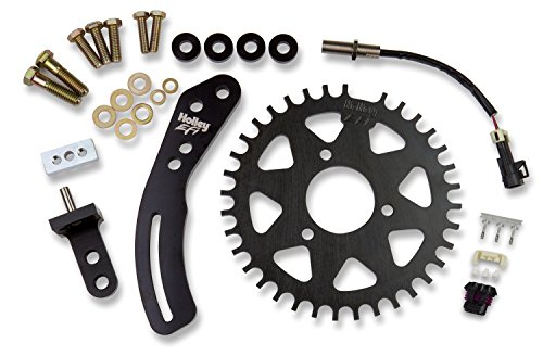 Holley EFI 556-113 Crank Trigger Kit 36-1 Tooth For Use w/Holley EFI Incl. Custom 3 Wire/Ferrous Target/Hall Effect Sensor w/M12X1mm Threads Crank Trigger Kit