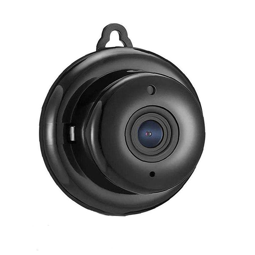 Camera Wireless Mini Camera WiFi Security Camera Portable Home Surveillance Camera Infrared Night Digital Camcorders for Indoor Outdoor Black for Monitoring