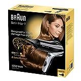 Braun Satin Hair 7 Haartrockner HD 710, mit IonTec und Satin Protect Technologie, 2200 Watt - 7