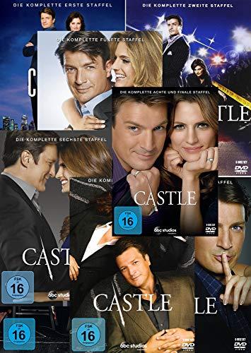 Castle - Die komplette 1. - 8. Staffel [45-Disc / 8-Boxen]