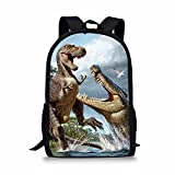 Albertosaurus Print Backpack For Child Girls Kids Book School Bags