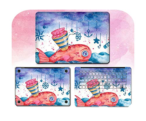 Lovely Cute Laptop Sticker For Macbook Pro Air 11 13 15 Retina Full body Skin Cover Protector Sticker Cute kawaii Protector Skin-6-Pro15 A1286 CD ROM