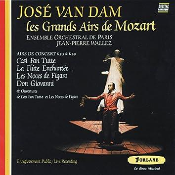 José Van Dam : Les grands airs de Mozart