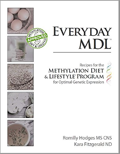 EVERYDAY MDL: Recipes for the Methylation Diet & Lifestyle Program for Optimal Genetic Expression (English Edition)