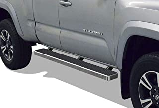 APS iBoard Running Boards 5 inches Custom Fit 2005-2020 Toyota Tacoma Access Cab Pickup (Nerf Bars Side Steps Side Bars)