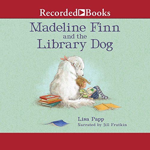 Madeline Finn and the Library Dog audiobook cover art