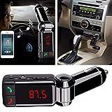 CQLEK® Best Bluetooth Car Charger with Dual USB Charging Port (5V 2.1A) Digital