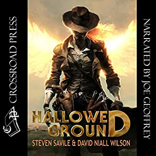 Hallowed Ground                   By:                                                                                                                                 David Niall Wilson,                                                                                        Steven Savile                               Narrated by:                                                                                                                                 Joe Geoffrey                      Length: 7 hrs and 51 mins     14 ratings     Overall 3.4