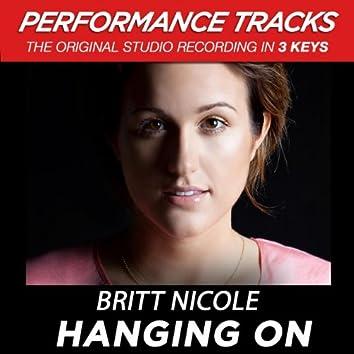 Hanging On (Performance Tracks)