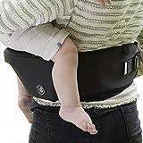 Hippychick - Hipseat - Asiento portabebés - Sencillo y ergonómico - Negro