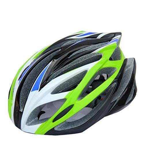 GWXQY Ciclismo de Bicicleta Casco Integrado,56-63 cm specializado para Hombres Mujeres ProteccióN...