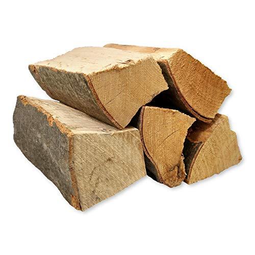 B&P Dienstleistungen und Service Brennholz Feuerholz Kaminholz Buche 30 kg getrocknet 25er Scheite - im Karton