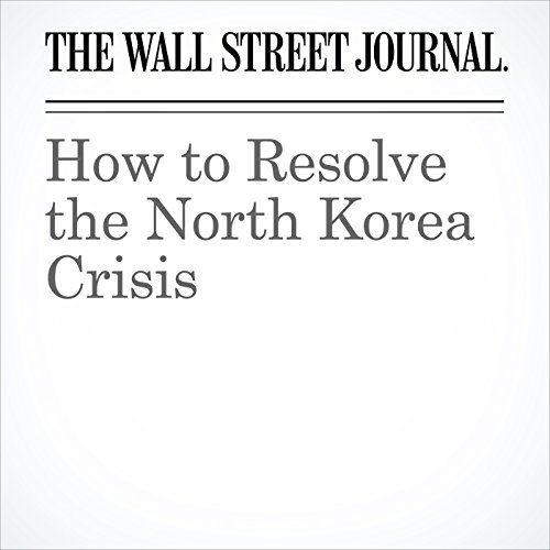 How to Resolve the North Korea Crisis audiobook cover art