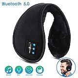 Bluetooth Ear Muffs for Men Women Top Cool Tech Gadgets Unique for Mom Dad Her Teen Boys Girls Ear Warmers Headphones, LC-dolida Winter Bluetooth Earmuffs Foldable