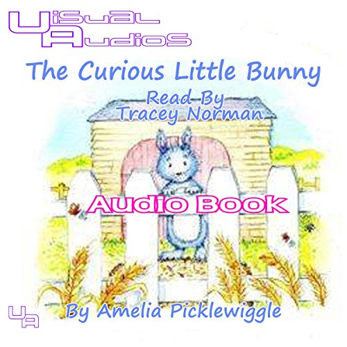 The Curious Little Bunny audiobook cover art