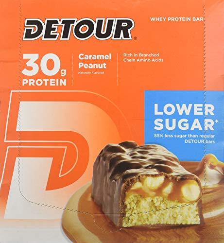 Forward Foods Deluxe Whey Protein Energy Bar Caramel Peanut 12-3oz. (85g) bars 36 oz. (1020g)