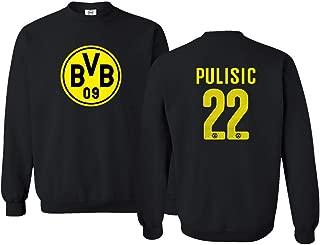 New Soccer Jersey Style Shirt #22 Pulisic Unisex Sweatshirt Crewneck Sweater