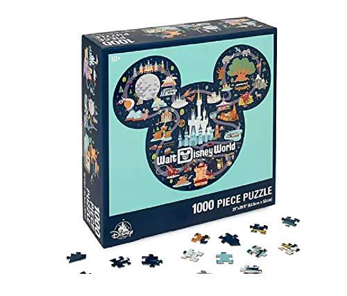 DisneyParks Mickey Mouse Icon Walt Disney World Map Puzzle