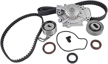 DNJ TBK219WP Timing Belt Kit with Water Pump for 1990-1997 / Honda, Isuzu/Accord, Oasis, Odyssey, Prelude / 2.2L / SOHC / L4 / 16V / 2156cc / F22A1, F22A4, F22A6, F22B2, F22B6