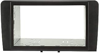 tomzz Audio 2403 037 Doppel DIN Radioblende Set kompatibel mit Audi A3 8P A3 Sportback 8PA Bj.2003 2013 schwarz mit Einbaukit, Modelle mit Symphony, Concert oder Chorus
