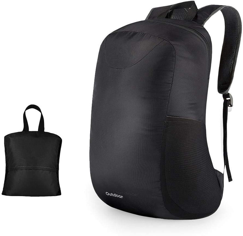 HUDUI 15L Wasserdichte Falten Rucksack im freien Rucksack reiserucksack Reisetasche bergsteigenbeutel Sack Tasche Sporttasche