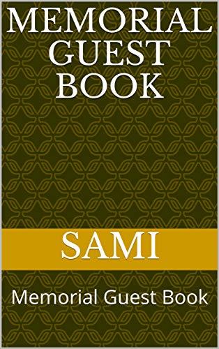 Memorial Guest Book: Memorial Guest Book (English Edition)