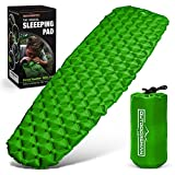 Outdoorsman Lab Sleeping Pad for Camping - Patented Camp Mat,...