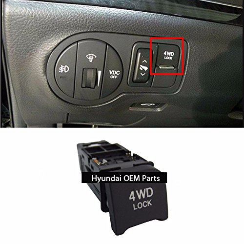 Price comparison product image 4WD TOD LOCK Switch Assy For Hyundai 2007-15 Veracruz ix55 OEM Parts