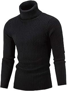 SANFASHION 2019 Newest Men Knitted Jumper Sweater Long Sleeved Autumn Winter Casual Slim Fit Warmer Lightweight Soft Comfy...