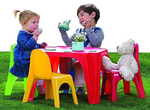 Tavolino Pic Nic + 4 Sedie Plastica
