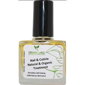 Tratamiento intensivo para cutículas de uñas de aceite 7 días mejora cannabis jojoba ricino vitamina E, fortalecedor, sin silicona, sin parabenos, recién hecho orgánico. 10 ml: Amazon.es: Belleza