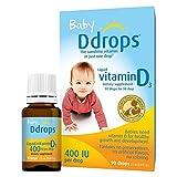 Ddrops Baby Liquid Vitamin D3 Supplement 400 Iu - 0.08 Fl Oz - 2 Pk