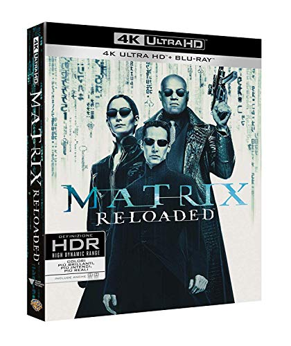 Matrix Reloaded (Blu-Ray 4K Ultra HD+Blu-Ray) [Blu-ray]