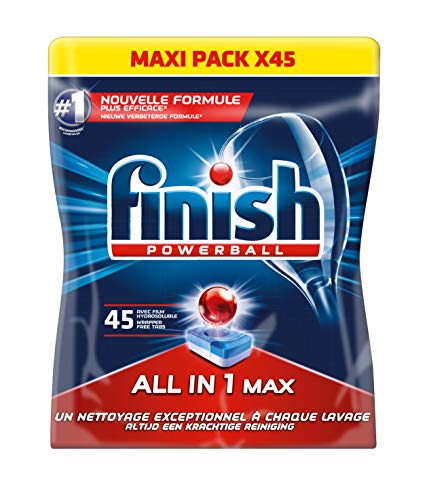Finish All in One Max Détergent Lave-Vaisselle