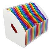 Caja Organizadora de Archivos Portátil, Carpeta...
