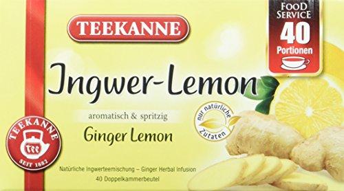 Teekanne Ingwer-Lemon, 2er Pack (2 x 120 g)