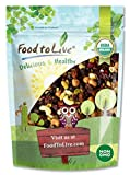 Organic Snack Mix, 1 Pound — Raw Nuts and Berries with Pumpkin Seeds, Non-GMO, Non-Irradiated, Kosher, Vegan Superfood, Bulk, Great Trail Mix, Rich in Natural Antioxidants