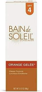 Bain de Soleil Orange Gelee Sunscreen, Tanning Lotion, 3.12 oz