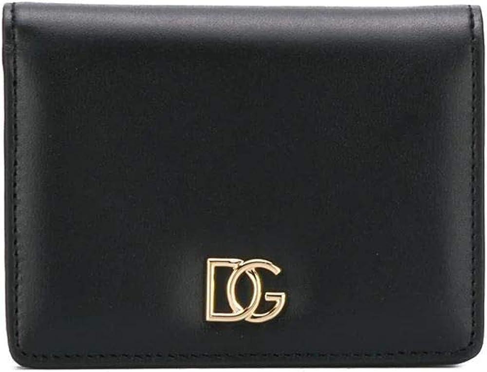 Dolce & gabbana luxury fashion,portafoglio per donna,in vera pelle al 100% BI1211AX355