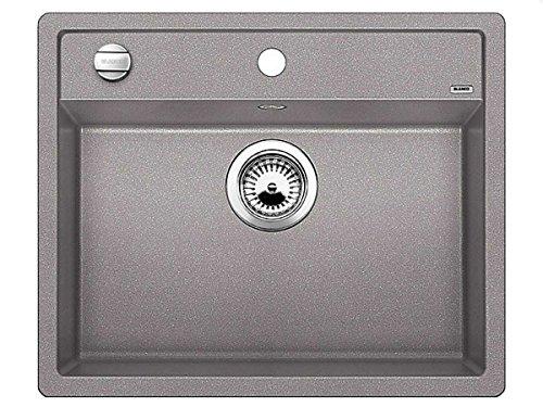 Blanco Dalago 6-F Alumetallic Grau Granit-Spüle Flächenbündig Spülbecken Küche