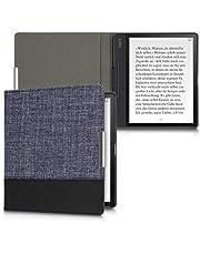 kwmobile Kobo Forma 用 ケース - キャンバス 電子書籍カバー - オートスリープ reader 保護ケース